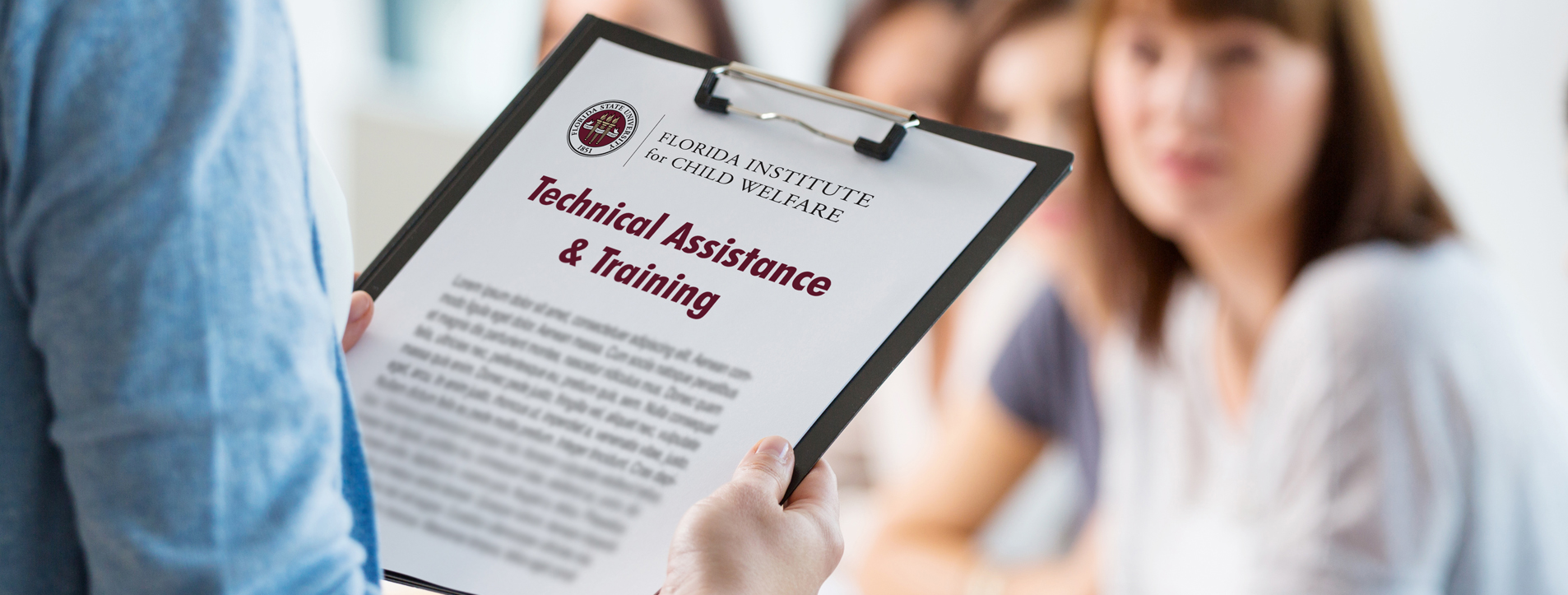Technical assistance and training banner